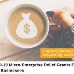 Micro-Enterprise Covid-19 Relief Grants For Local Businesses