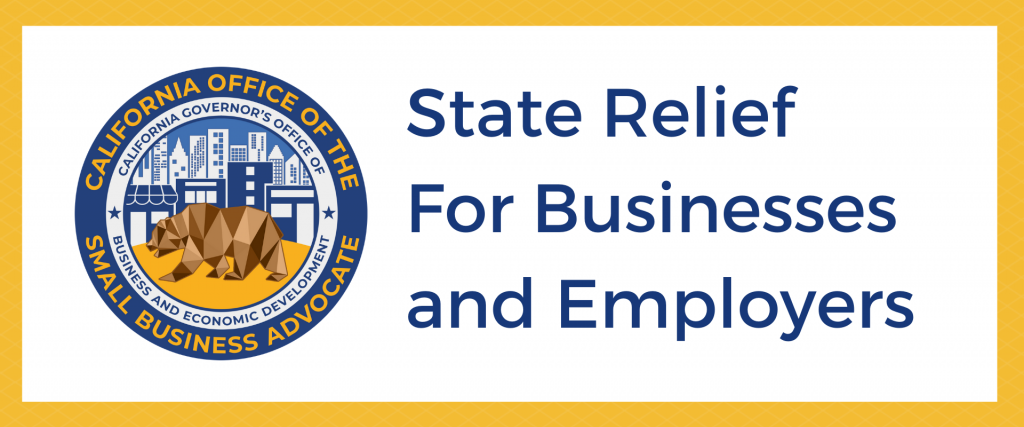 State Relief for Businesses and Employers