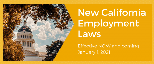 New California Employment Laws