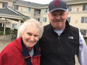 Gary with his Mom