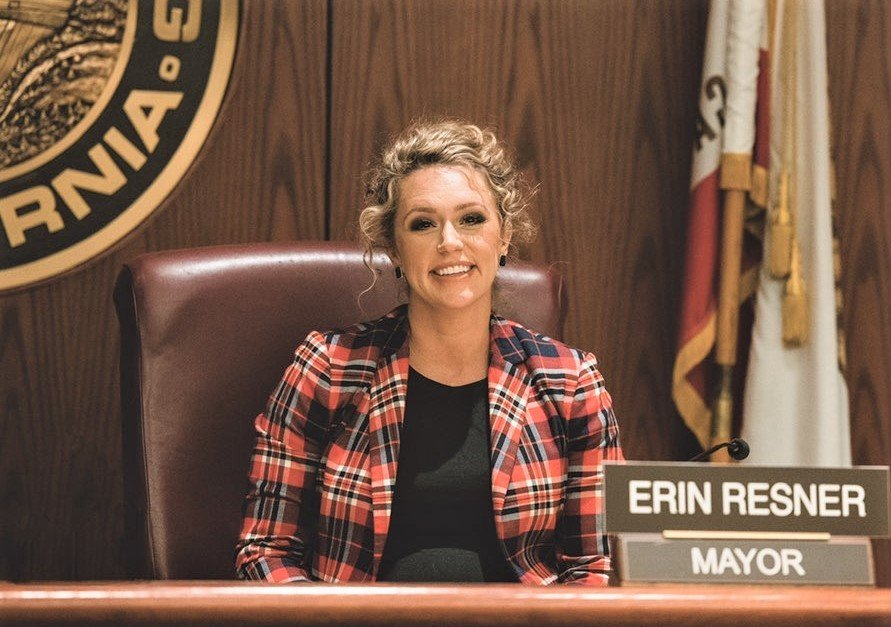 City of Redding Mayor Erin Resner