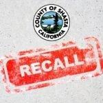 shasta county recall
